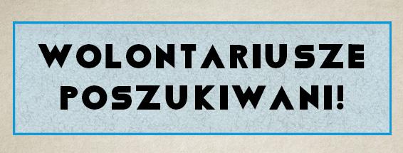 Fundacja Geriatrics z Krakowa poszukuje wolontariuszy chętnych do wspólnej zabawy i pracy na bezpłatnych zajęciach teatralnych