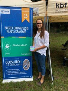 Krakowskim Pikniku w Parku Bednarskiego (30.06.2018r)