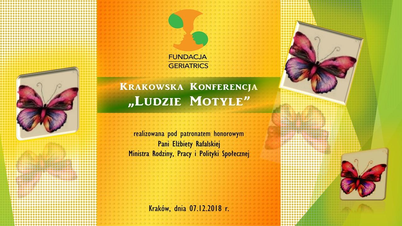 07.12.2018r -Krakowska Konferencja Ludzie Motyle – wspomnienia