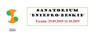 Sanatorium Dniepro-Beskid w Truskawcu (Ukraina) – 29.09.2019-11.10.2019