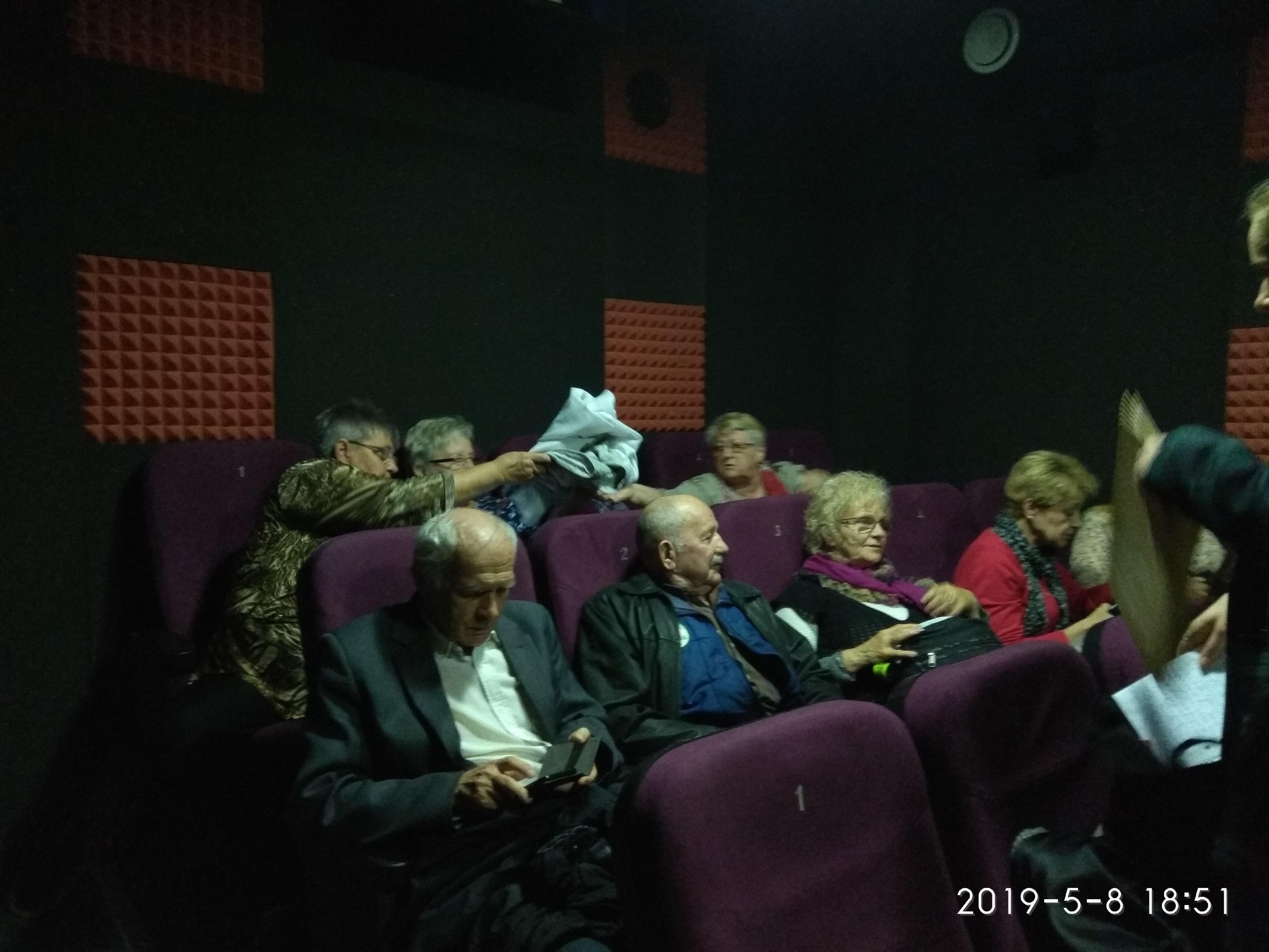 08.05.2019 uroczyste otwarcie Filmowego Klubu Seniora w Kinie Kika w Krakowie