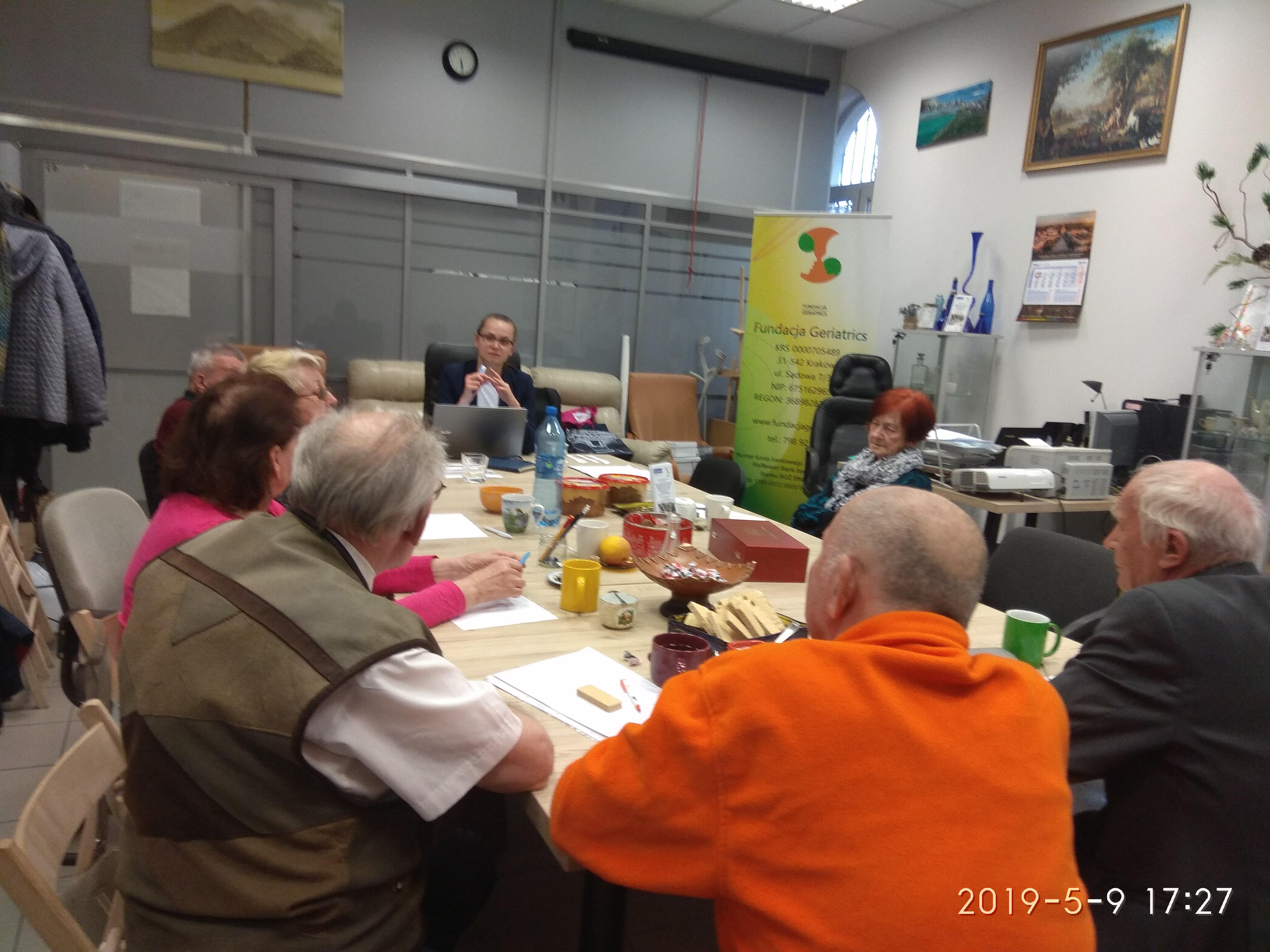 09.05.2019 -Warsztaty mediacji i negocjacji -grupa podstawowa A1 (II zajęcia)