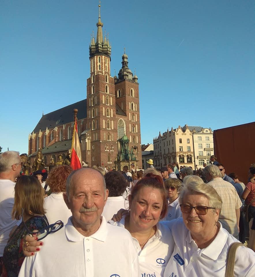 02.06.2019r Pochód OWHC – 15 Światowy Kongres Organizacji Miast Światowego Dziedzictwa w Krakowie.