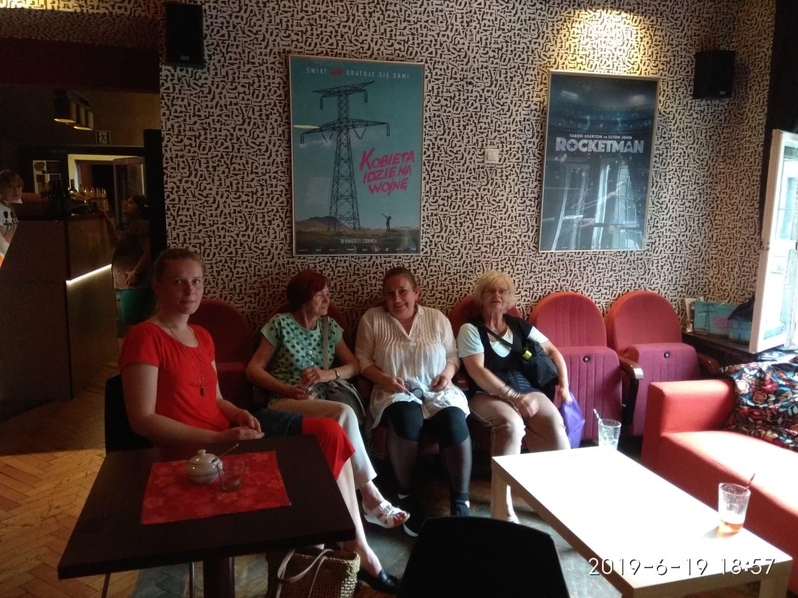 19.06.2019r Filmowy Klub Seniora (zajęcia IV)
