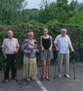 13.06.2019 Zajęcia ogólno-ruchowe nordic walking (zajęcia VII)