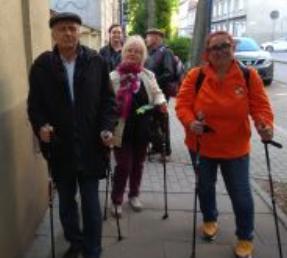 23.05.2019r Zajęcia ogólno-ruchowe -nordic walking (IV zajęcia)