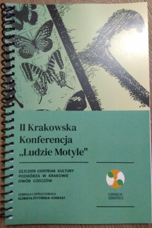 """Do nabycia książka pokonferencyjna dot. aktywnego starzenia i starości, pt.: II Krakowska Konferencja """"Ludzie Motyle"""""""