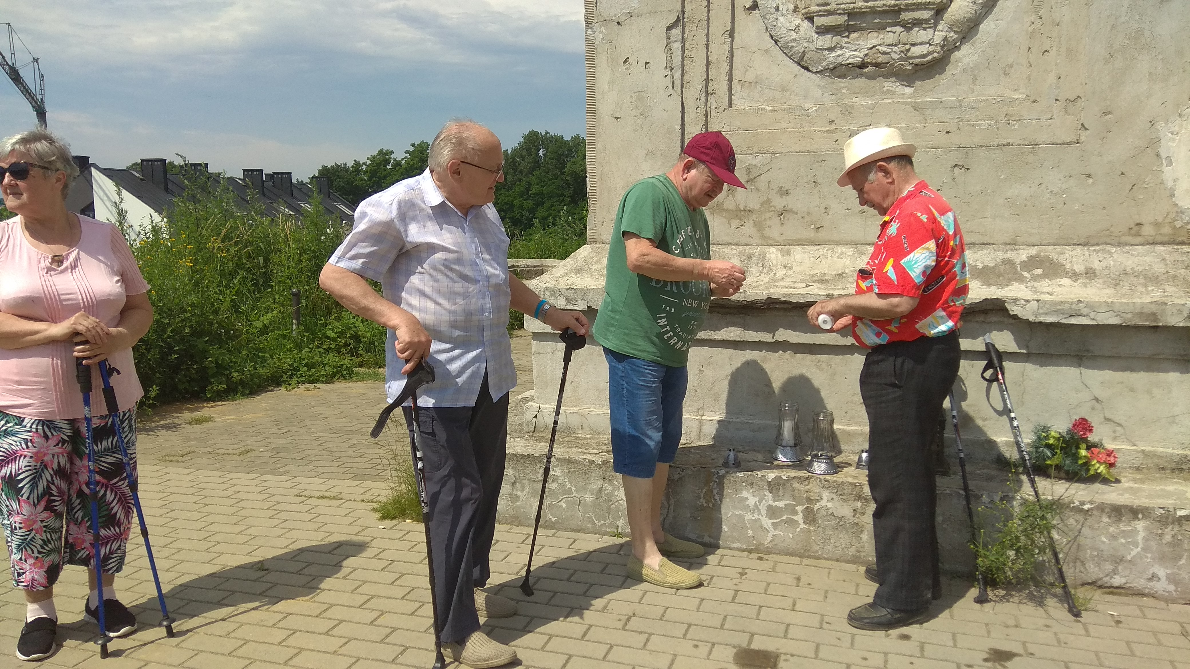 06.07.2020r Spotkania sympatyków Wzgórza Kaim w Krakowie